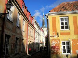 Old city centre of Tallinn