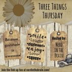 3thingsthurs