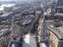 Roof of St. Paul's, London