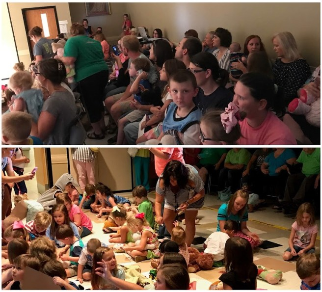 Teddy Bear Sleepover at McComb Public Library
