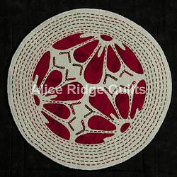Mock Mola, Red Petals White Circle