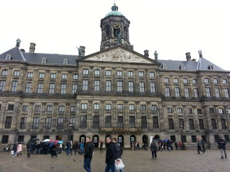 On the Dam square