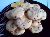 Biscotti arancia e cioccolato con farina di riso4