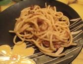 Troccoli freschi con cipolla rossa e speck4