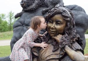 Bridgette Mongeon sculpts Wonderland