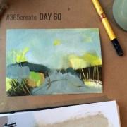 Alice Sheridan 365create aprilcolour abstract painting mixed media