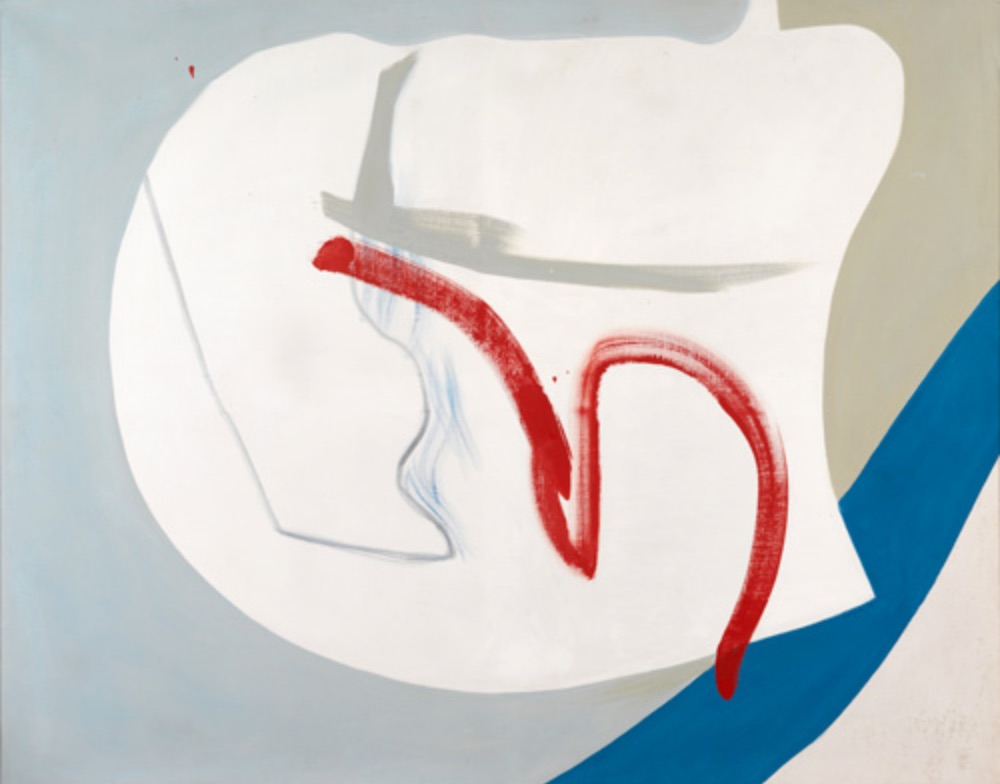 Peter Lanyon Near Cloud 1964 oil on canvas 122 x 152.5cm