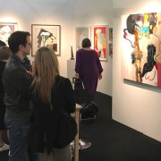 Affordable art fair viewing
