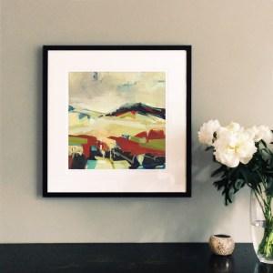 Spaces Between framed 40cm print Alice Sheridan