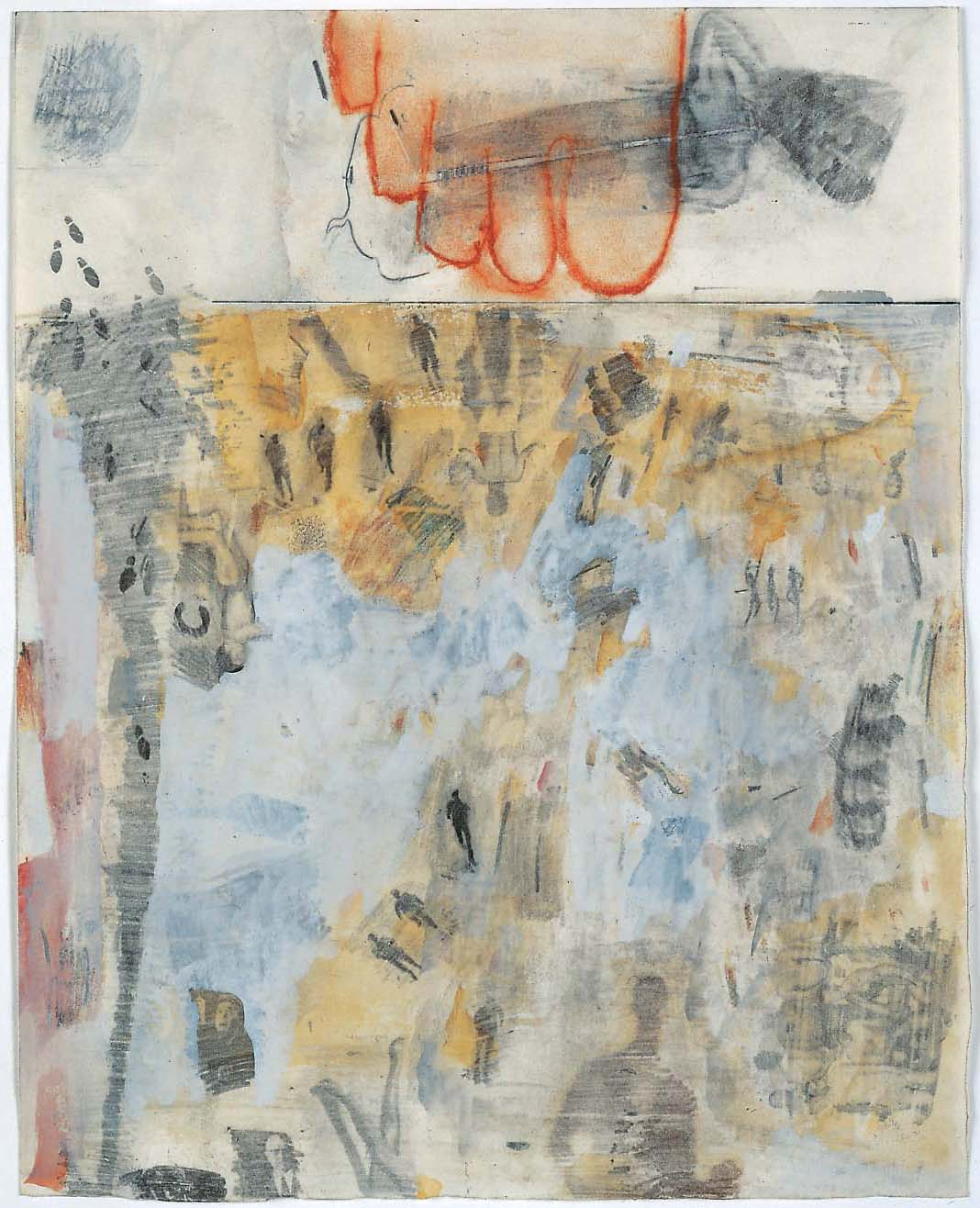 Rauschenberg Canto XIV Dante transfer drawings