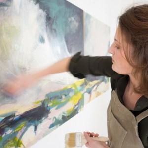 Alice Sheridan abstract painting
