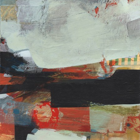 small abstract painting by Alice Sheridan