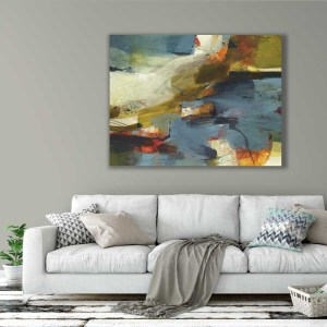 large abstract painting by Alice Sheridan