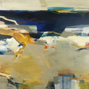 Drift Dive Alice Sheridan abstract painting