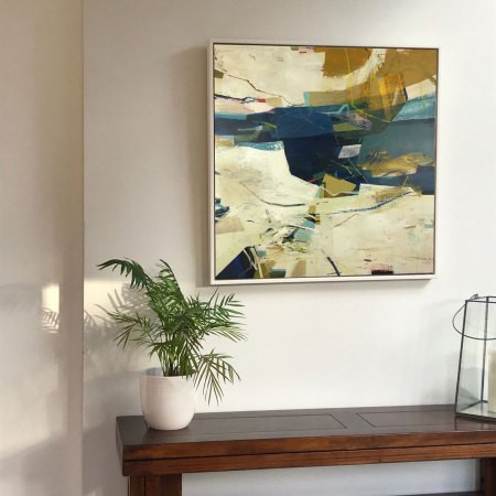 Bowline Alice Sheridan abstract original painting