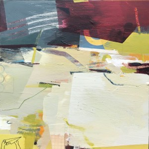 Down to the Beach Alice Sheridan abstract painting