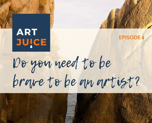 Do you need to be brave to be an artist?