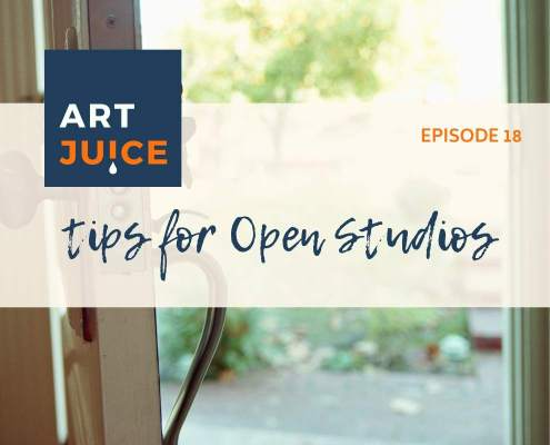 tips for Artists Open Studios