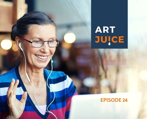 share your art online podcast
