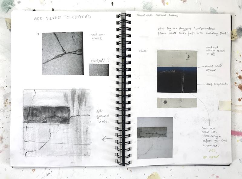 print sketchbook Alice Sheridan