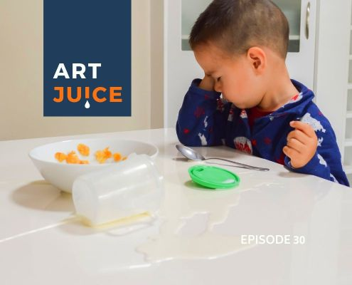 Art Juice Podcast spilt milk