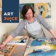 Art Juice podcast with Megan Woodard Johnson