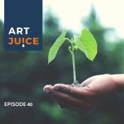 Art Juice podcast Coaching Creativity with Judith Morgan