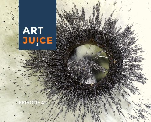 ArtJuice podcast Episode 41 Law of Attraction for artists