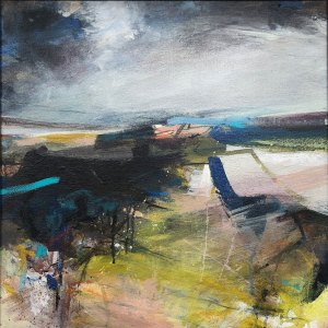 Abstract landscape by Alice Sheridan