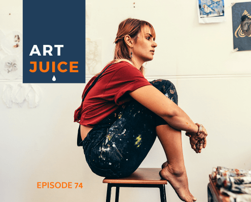 Art Juice podcast artist thinking