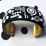 Alice Stroppel black and white bracelet