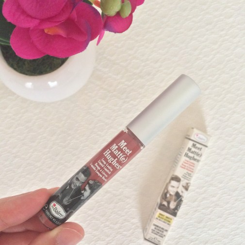 theBalm Meet Matt(e) Hughes Long Lasting Liquid Lipstick in 'Sincere'