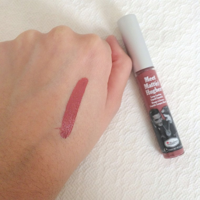 Meet Matt(e) Hughes Long-Lasting Liquid Lipstick in 'Sincere', theBalm - Swatch