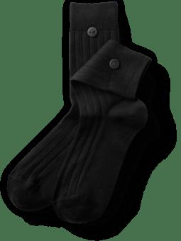 wadensocken-schwarz-plus