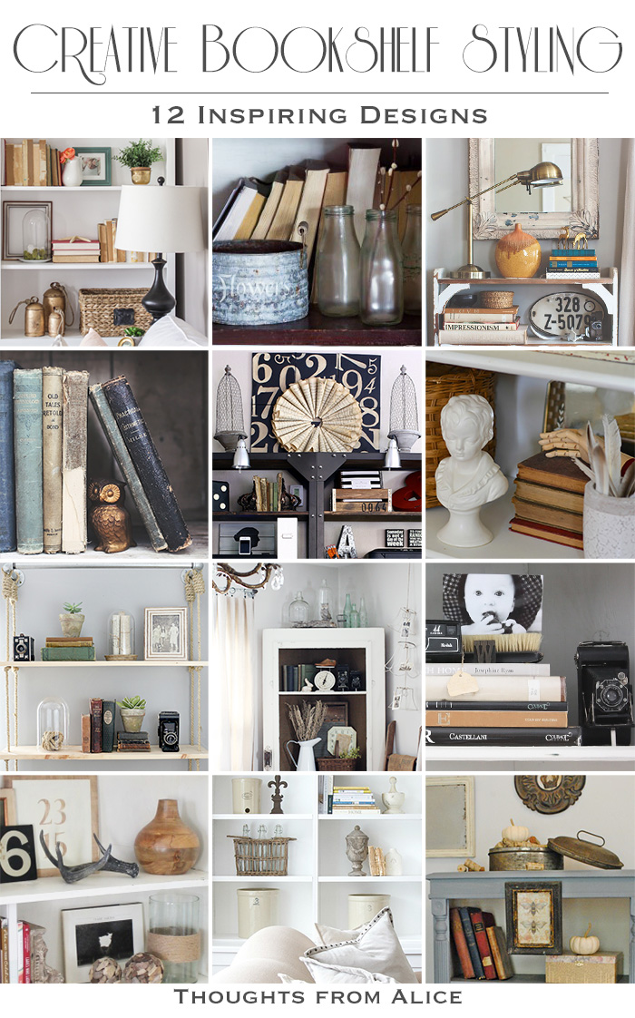 Creative Bookshelf Styling Alice Wingerden
