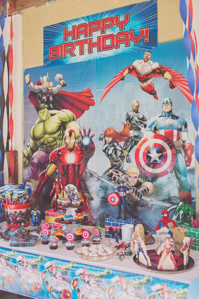 Owen\u0027s Avengers Superhero Birthday Party \u2013 Alice Wingerden