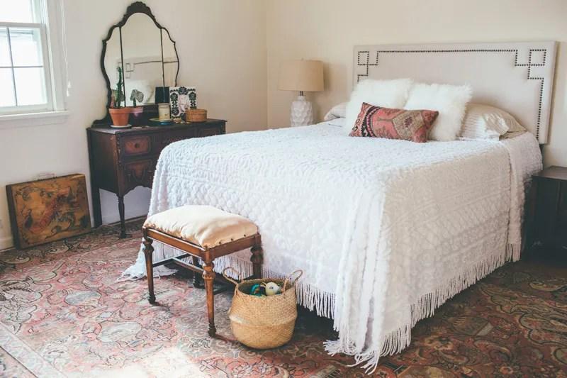 Vintage Boho Master Bedroom {in Progress} - Alice Wingerden on Boho Master Bedroom Ideas  id=53665