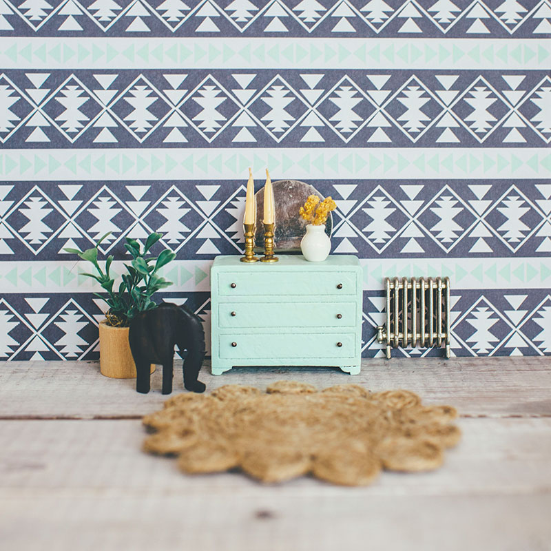 Boho Dollhouse Decorating Ideas