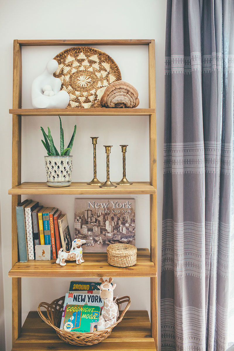Leaning-Wooden-Shelf-Styling