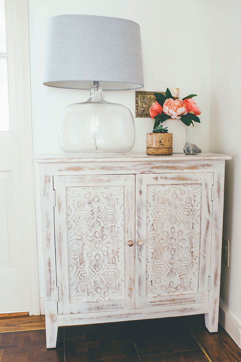Entryway-Accent-Cabinet-with-Whitewashed-Finish