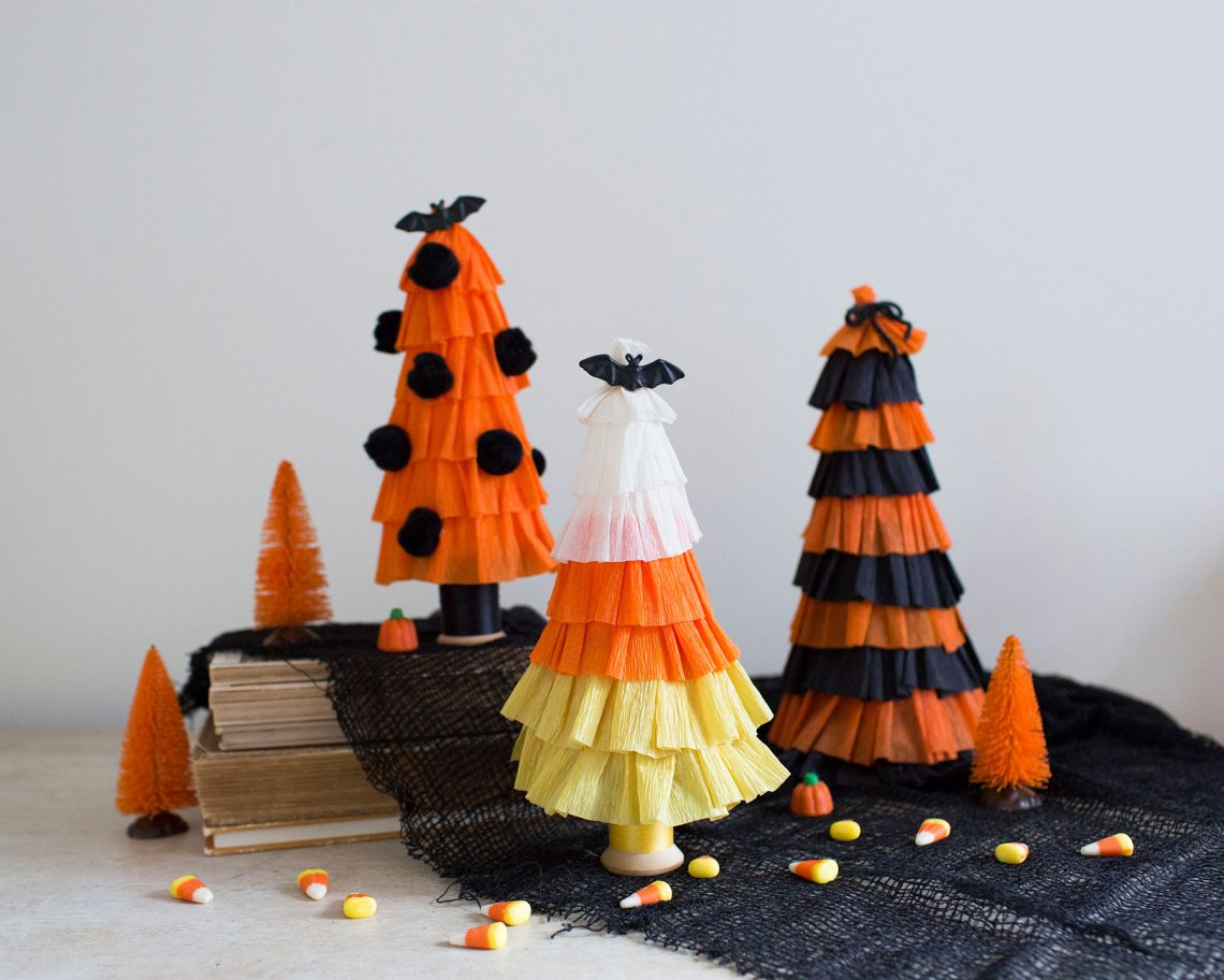 Easy Halloween Tree Craft