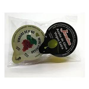 Set de aliño para ensaladas Jerecitos con aceite de oliva virgen extra, vinagre y sal