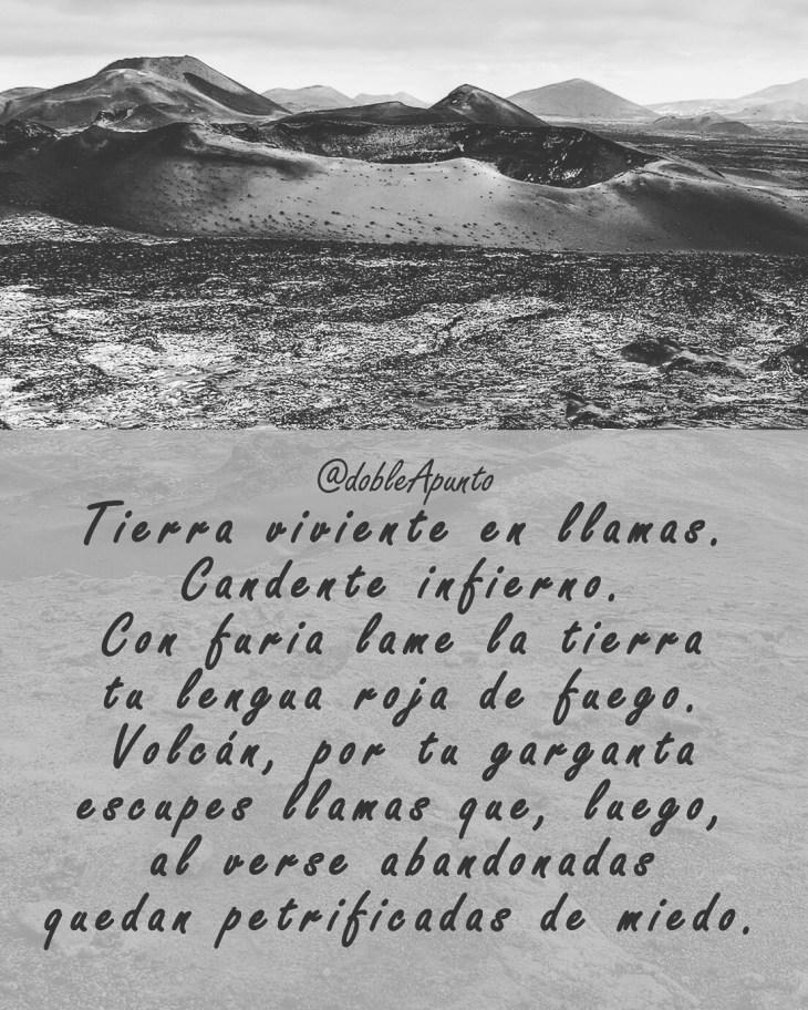 Poema: Tierra de lava
