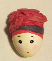 Girl in a Pink Turban egg