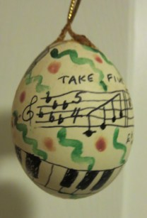 Take Five egg