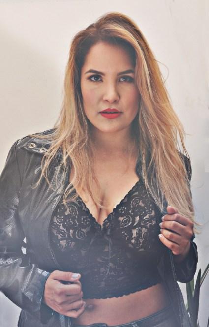 Pamela Díaz, modelo curvy