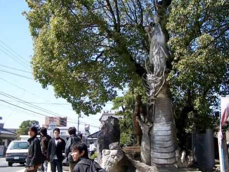 Ryuzu Kannon; Shikoku, Japan; 2006