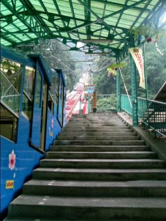 Gondola to Mount Koya; Wakayama, Japan; 2006