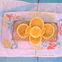 Panqué de naranja, yogurt y cardamomo... Listo para el café
