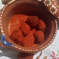 Tarugos o dulces de tamarindo con chile